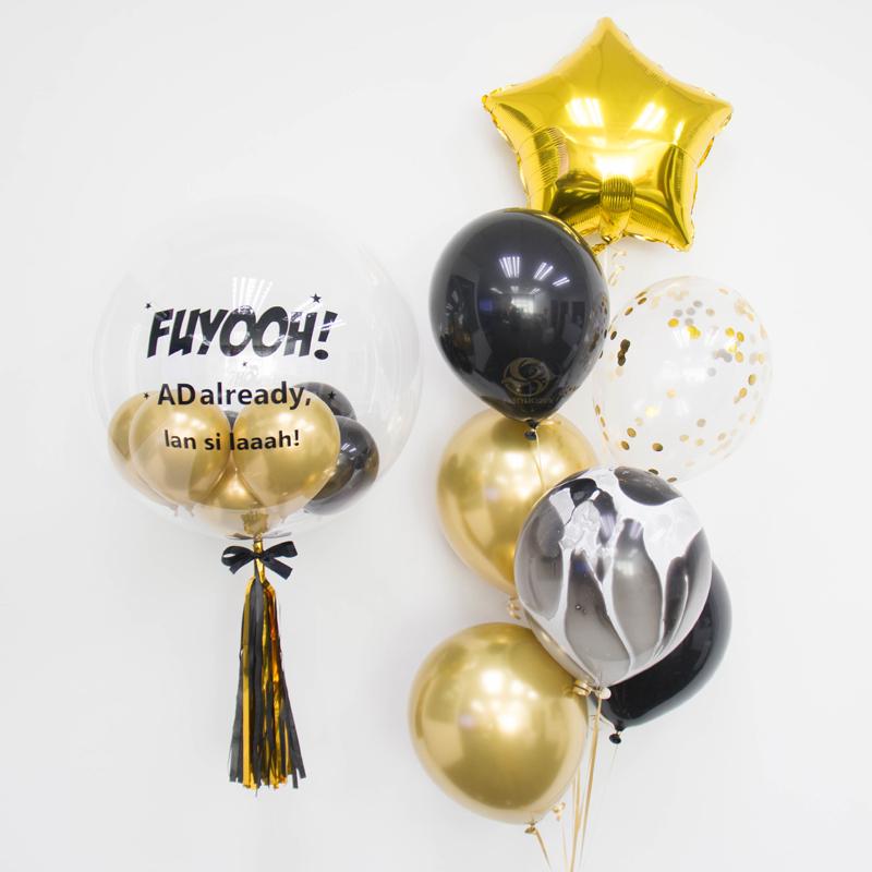 Xena Bubble Balloon Bunch