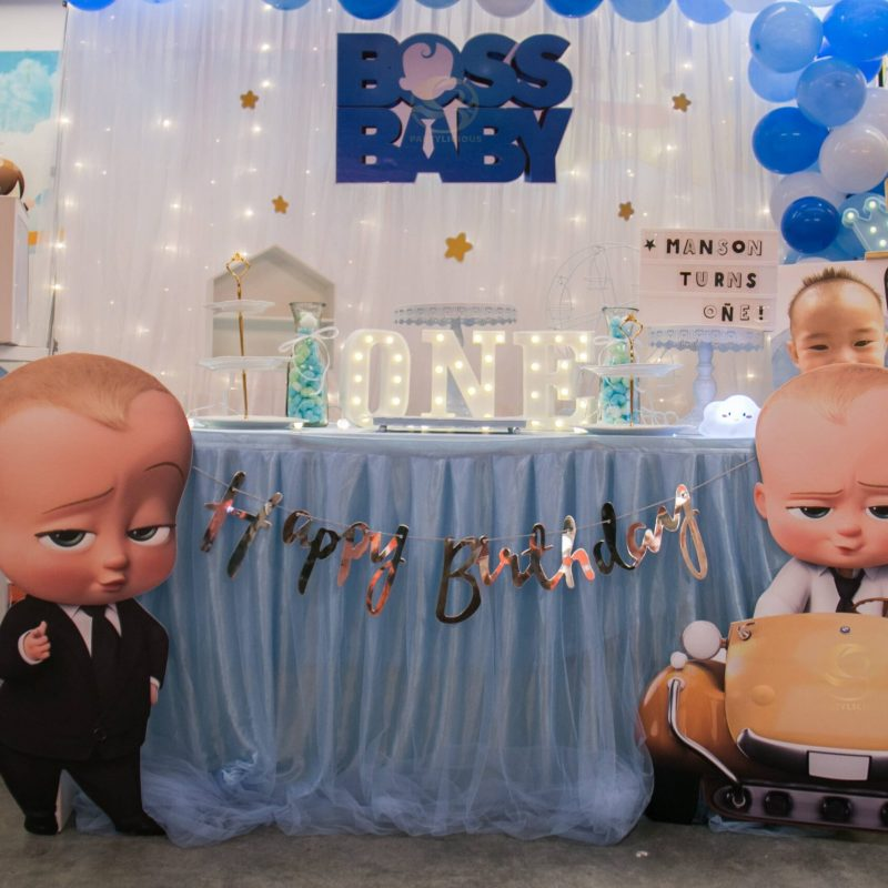 Blue Themed Baby Boss Package