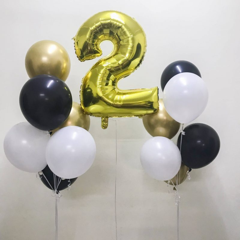 Delphine Latex Balloon Bunch
