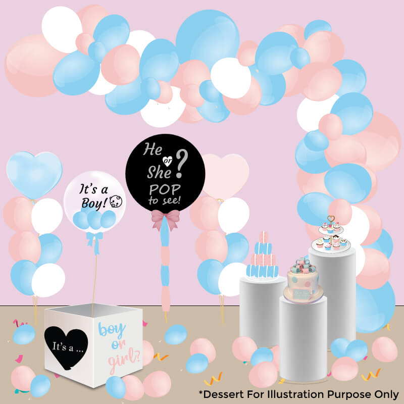 The Grand Gender Reveal Package
