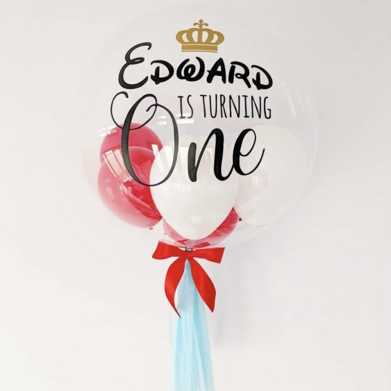 24inch Eleanor Bubble Balloon
