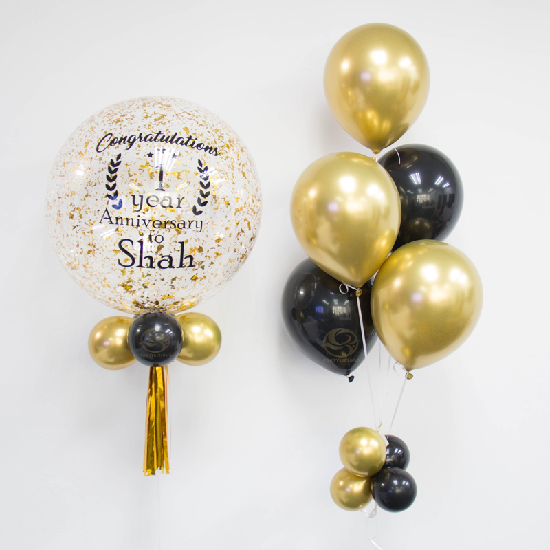 Emery Bubble Balloon Bunch