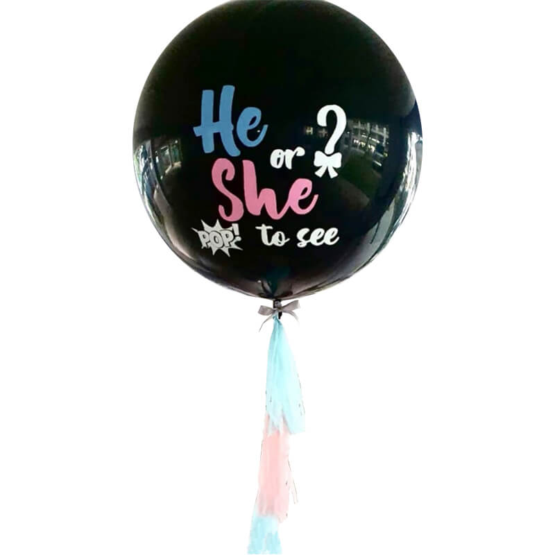 36inch Jumbo Gender Reveal Balloon