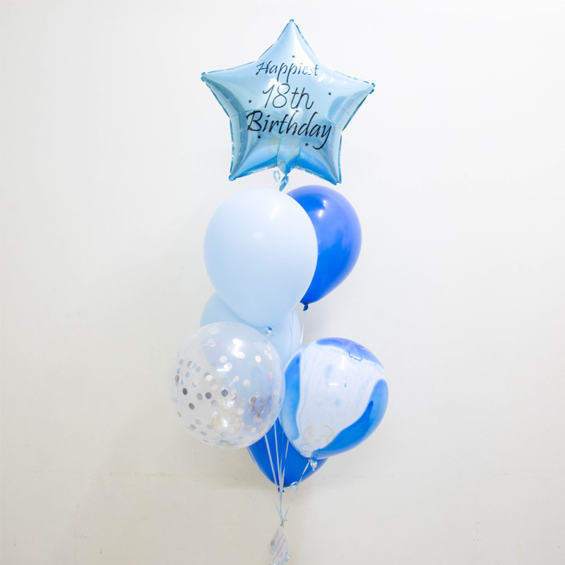 Charlotte Latex Balloon Bunch