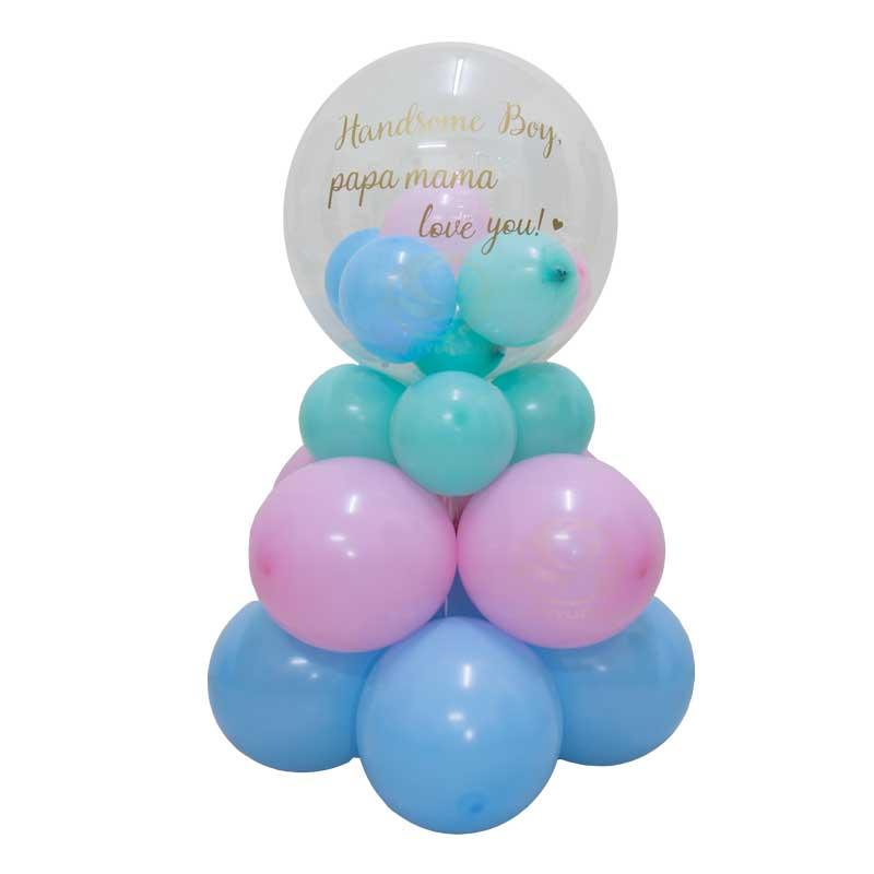 Classical Bubble Balloon Column