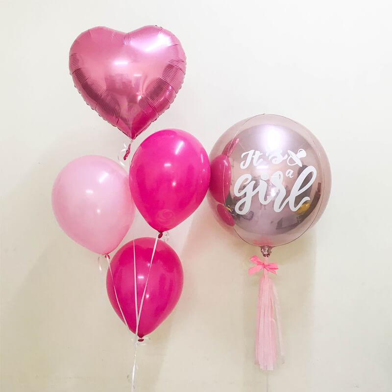 Cordelia Latex Balloon Bunch