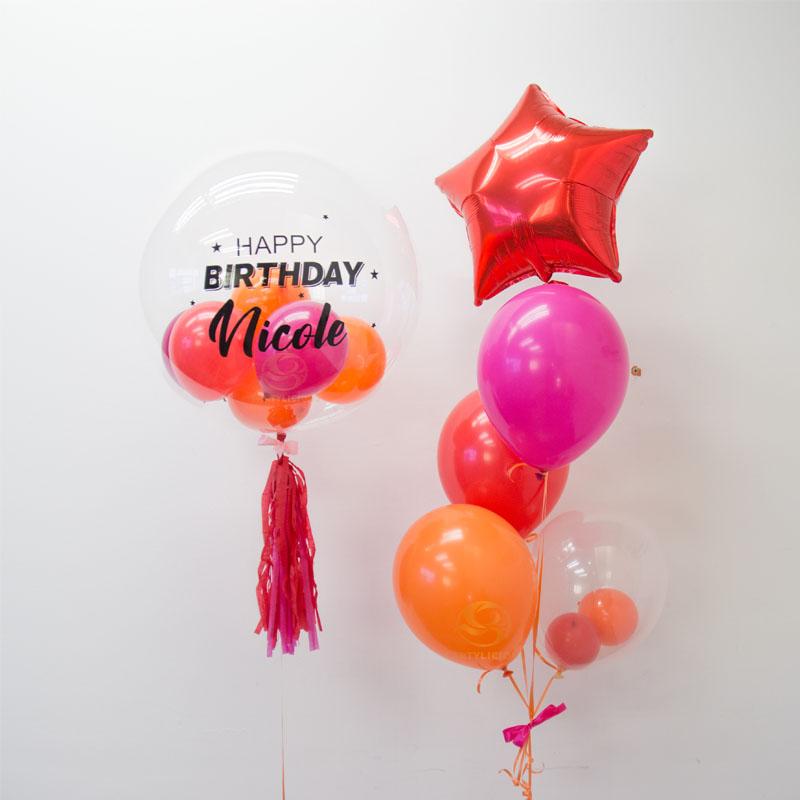 Eliza Bubble Balloon Bunch 4