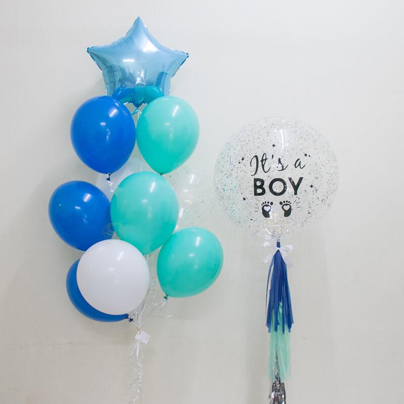 Kyzo Bubble Balloon Bunch