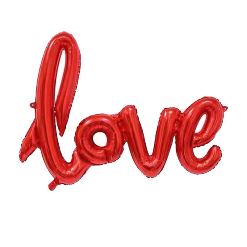 Linked Love Foil Balloon