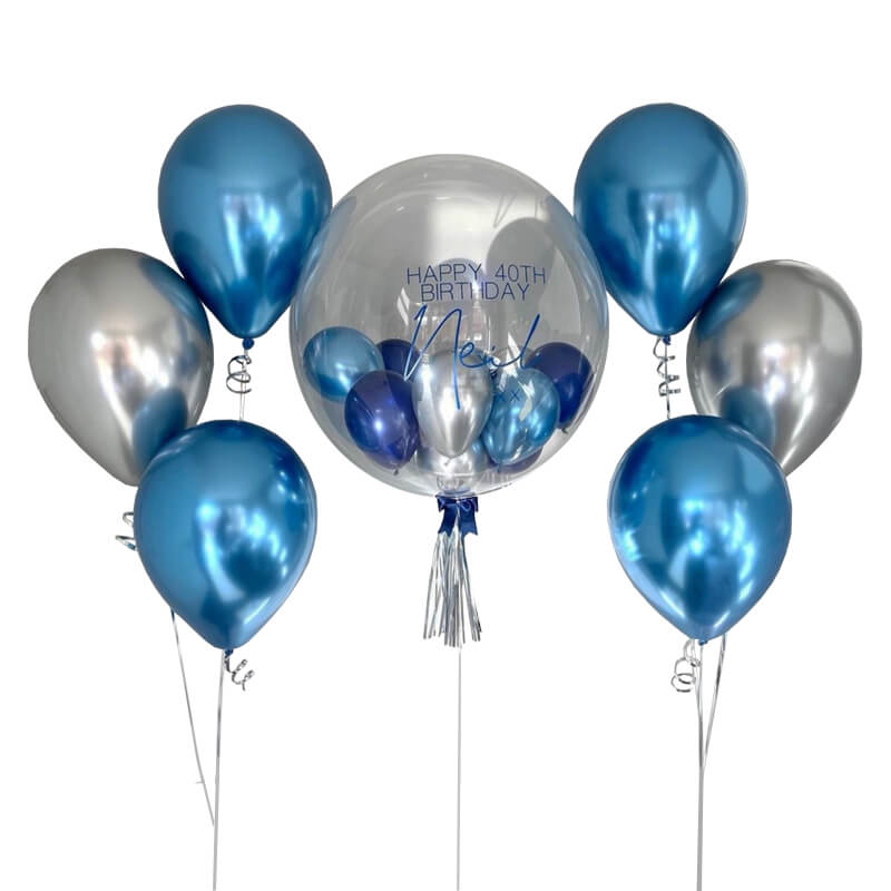 Valentina Bubble Balloon Bunch