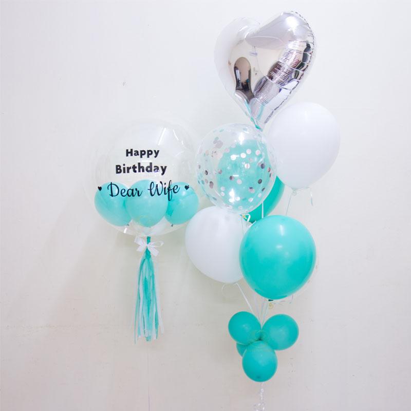 Adonis Bubble Balloon Bunch