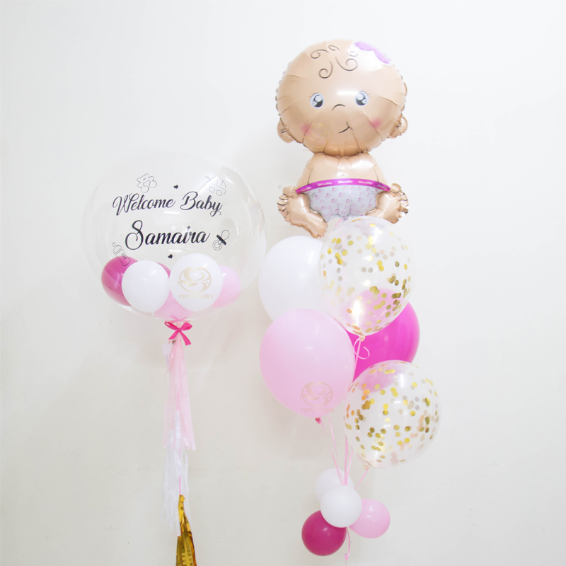 Athena Bubble Balloon Bunch