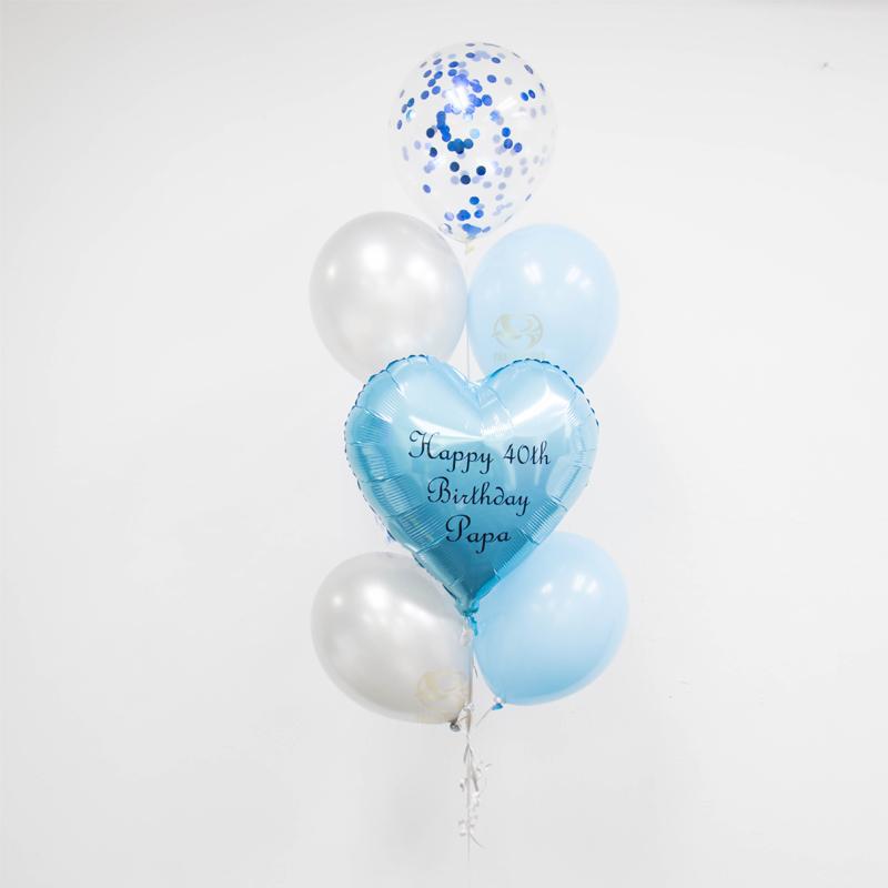 Cody Latex Balloon Bunch