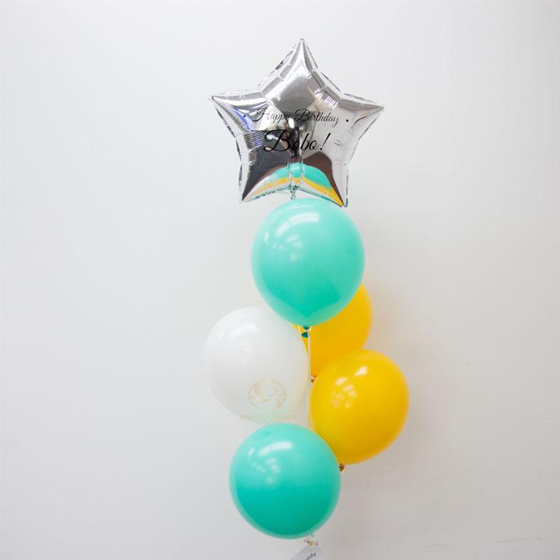 Layla Latex Balloon Bunch