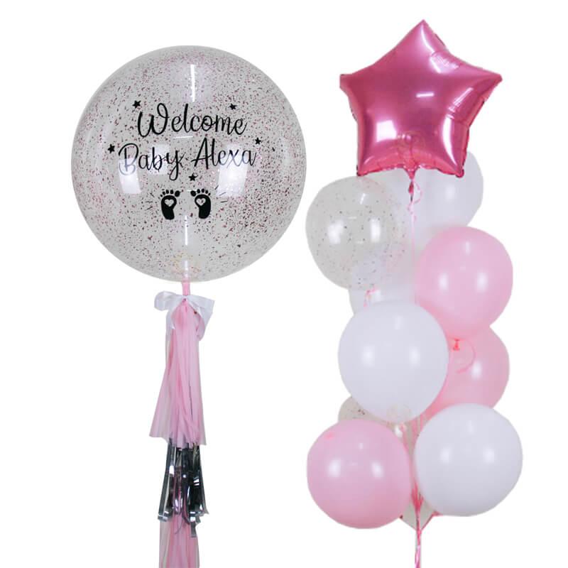 Mila Bubble Balloon Bunch