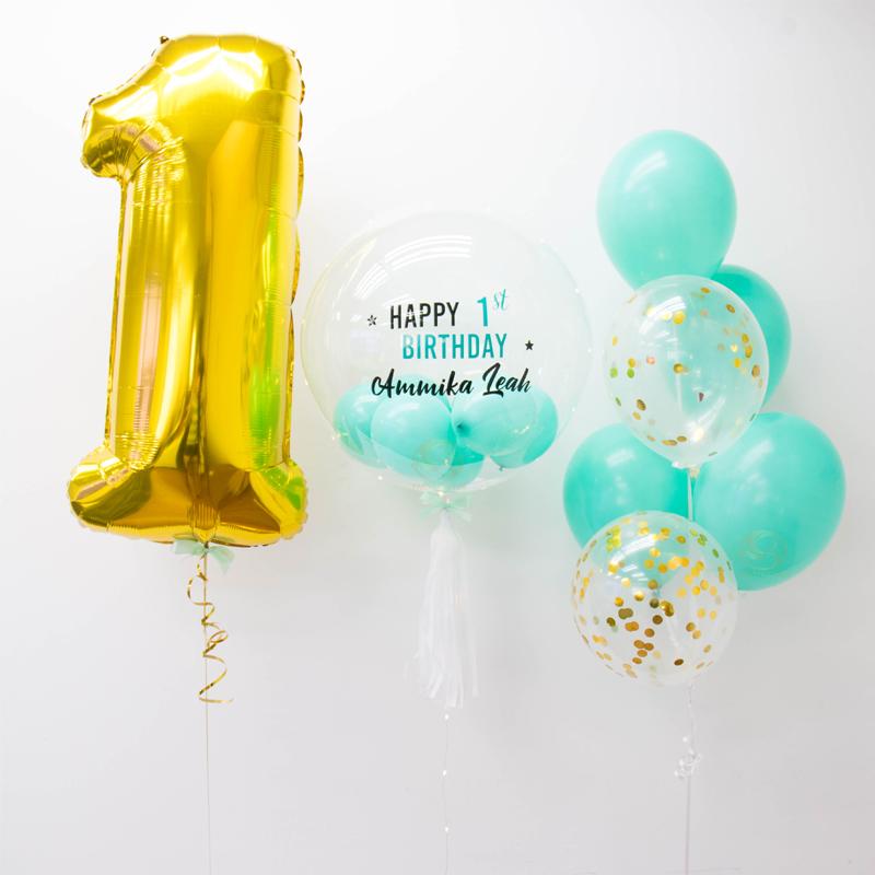 Jordan Bubble Balloon Bunch