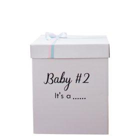 Classic Gender Reveal Surprise Box