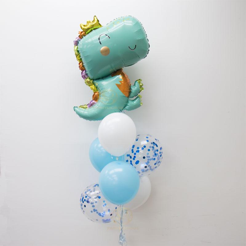 Dinosaur King Latex Balloon Bunch