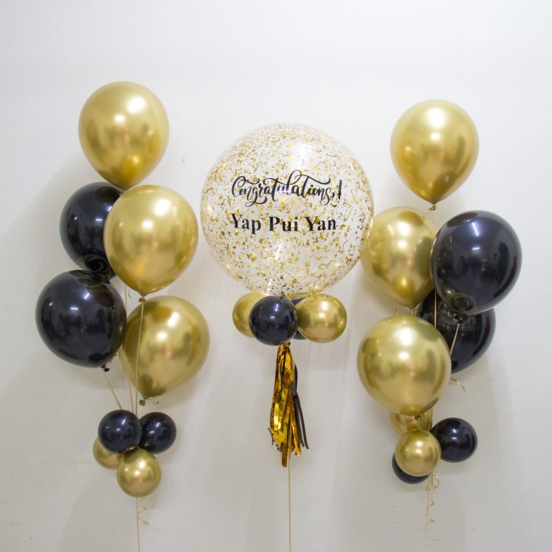 Grayson Bubble Balloon Bunch