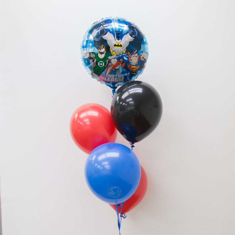 Superhero Latex Balloon Bunch