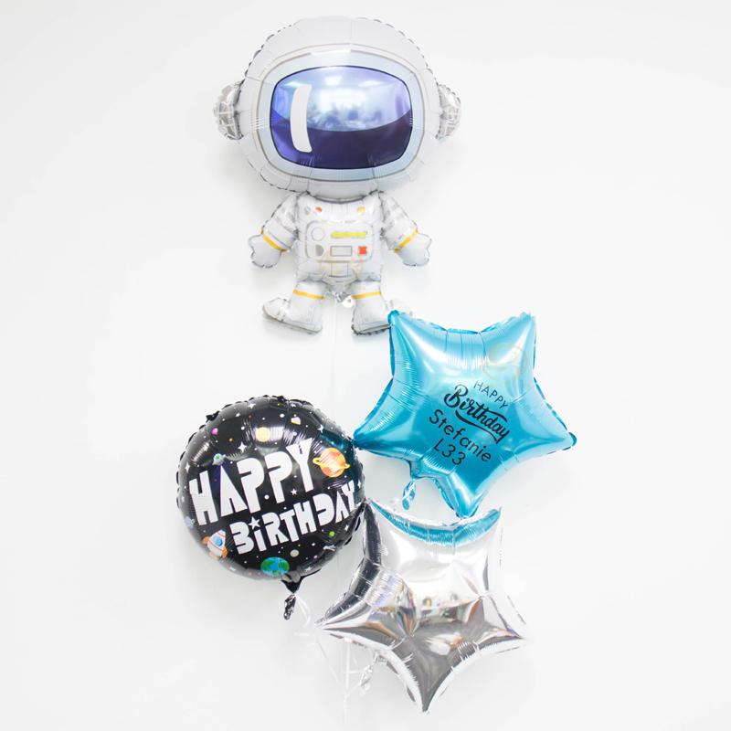 Astronaut Foil Balloon Bunch