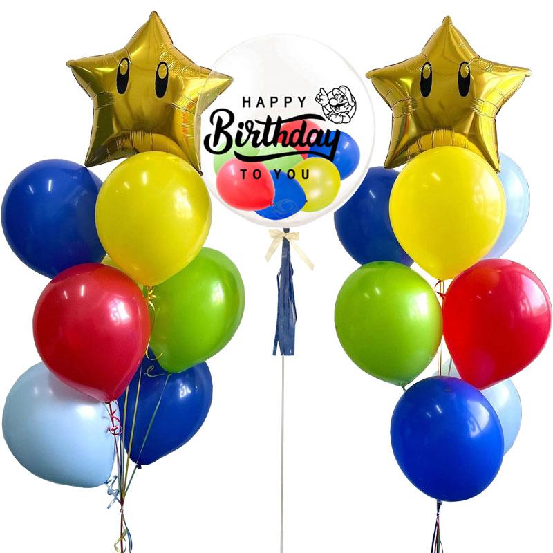 Deluxe Mario Bubble Balloon Bunch
