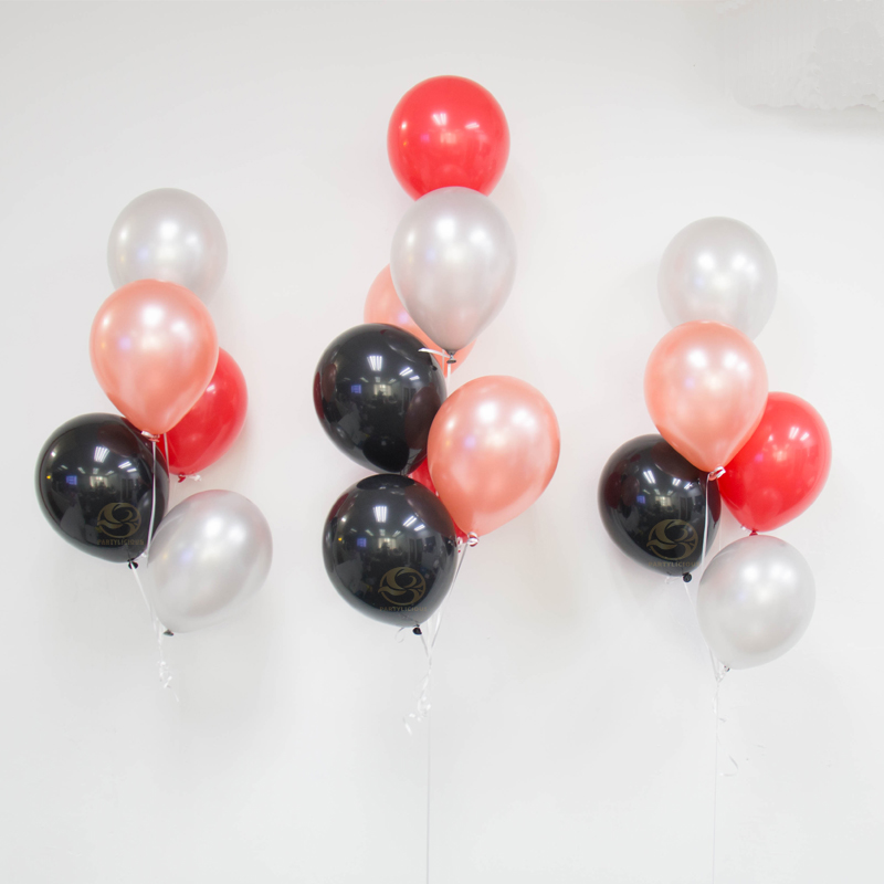 Freddie Latex Balloon Bunch